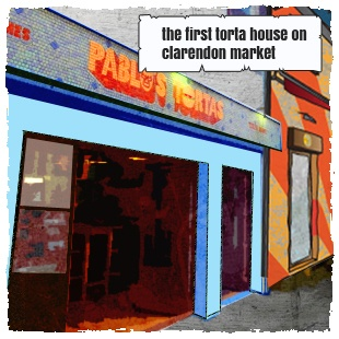 The first torta house at Clarendon Market
